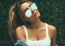bac7f092e50 item 4 QUAY X Desi High Key Silver Blue Mirror Sunglasses NEWT -QUAY X Desi High  Key Silver Blue Mirror Sunglasses NEWT