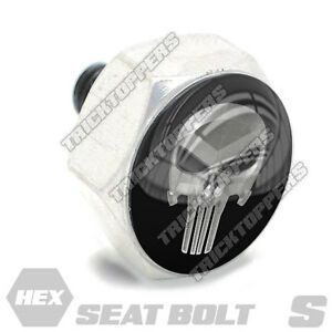 Aluminum Fender Seat Bolt 1//4-20 For Harley Sm Silver Billet EAGLE USA NO 1