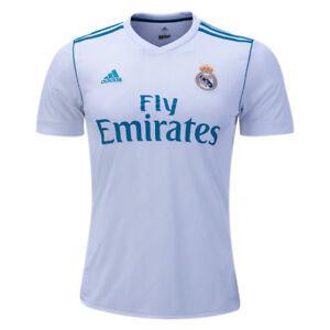 adidas-Men-039-s-Real-Madrid-17-18-Home-Jersey-White-AZ8059