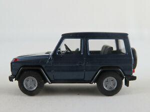 Herpa-Mercedes-Benz-300-GE-1990-in-blaumetallic-1-87-H0-NEU-unbespielt