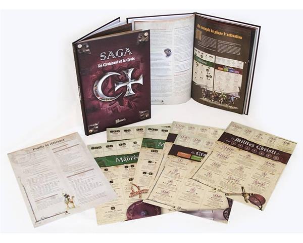 liquidación hasta el 70% Saga Saga Saga  The Crescent & Cross , New Middle Ages WarJuego Sistema By Gripping Beast  forma única