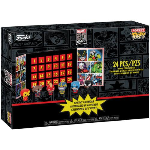 Marvel 80 Years Advent Calendar 2019-42752 Funko Pocket POP