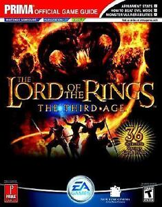 Details about The Lord of the Rings: The Third Age (Prima Official Game  Guide) by Kaizen Medi