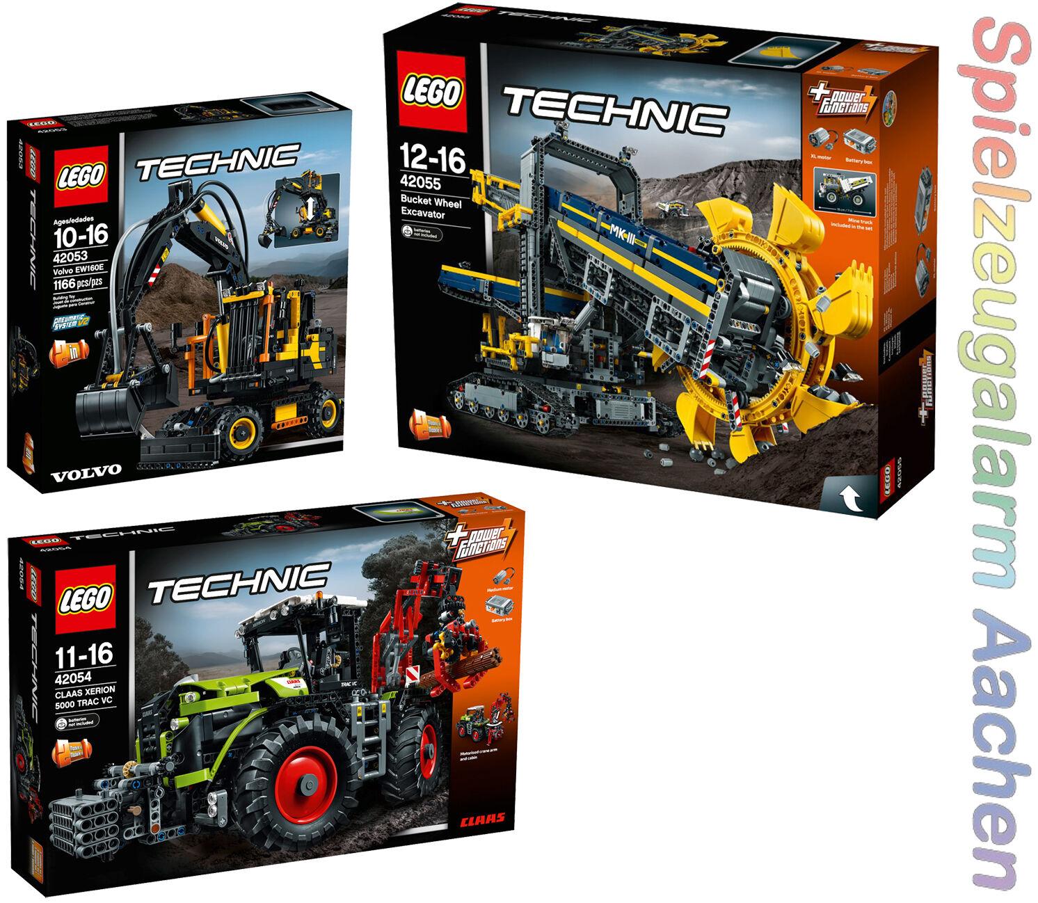 LEGO Technic 42053 42054 42055 ruota pale Escavatore aggiravano GRATIS DURACELL n16/8