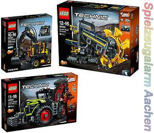 LEGO-TECHNIC-42053-42054-42055-Schaufelradbagger-XERION-Gratis-Duracell-N16-8