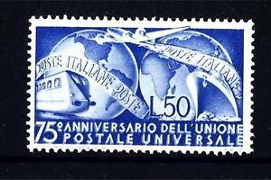 ITALIA-REP-1949-75-anniversario-dell-039-U-P-U-50-L-Yvert-538-mnh