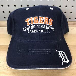 Detroit-Tigers-MLB-Baseball-Spring-Training-Lakeland-FL-Strap-Back-Hat-EUC-Cap