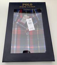 049667fc8b BNIB Polo Ralph Lauren Pyjama Set Red Blue Check SIZE 52 XL GUARANTEED  ORIGINAL