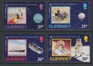 Guernesey-1991-Europa-Europe-En-Espace-Ensemble-MNH-Sg-520-3