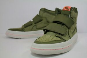 NIKE AIR JORDAN 1 RE HI DOUBLE STRP OLIVE CANVAS CONE ... 82f4e4bec