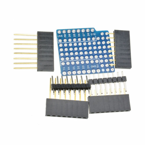 ProtoBoard Shield for WeMos D1 Mini Doppelt Sided perf Board Arduino kompatibel