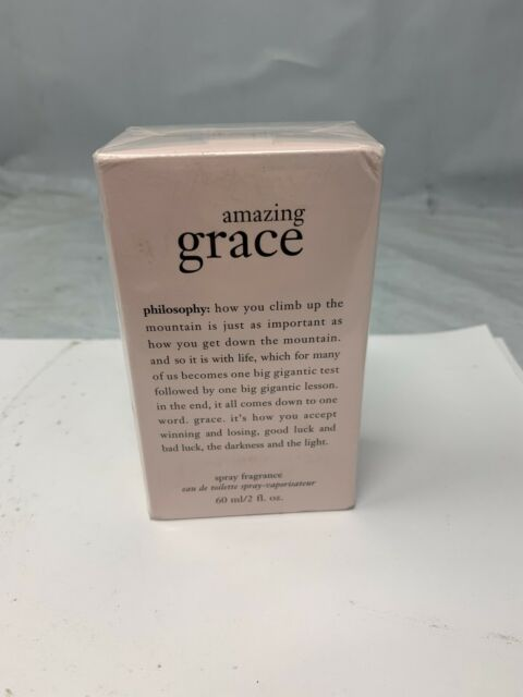 Amazing Grace Perfume by Philosophy for Women EDT 2 oz New in Box *