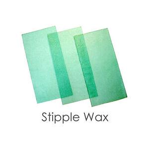 Details about Dental Lab Meta Stippled Casting Wax Green 15 x 17 cm 10  sheets / box