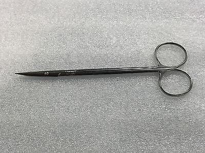 V.mueller Ch5675 Potts Tenotomy Schere Gebogen Hochglanzpoliert 6