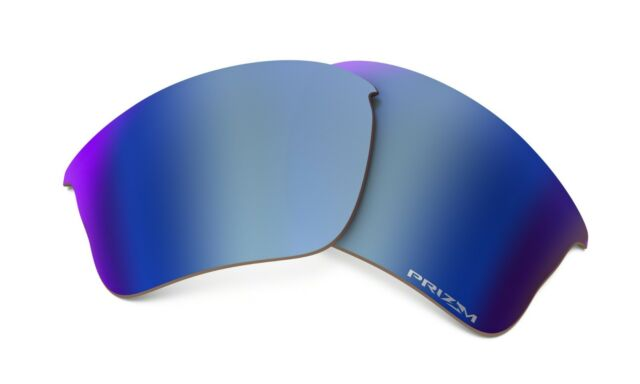 4345122fb1ed Oakley Flak Jacket XLJ Prizm Replacement Lens Deep Water Polarized One Size