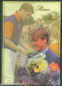 ANTIGUA PRINCE WILLIAM S/S IMPERFORATED SCOTT#2661 MINT NH