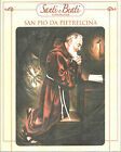 STAMPA SU CARTONCINO IMMAGINE SACRA - SAN PIO DA PIETRELCINA - CM. 19x24