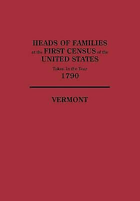 Heads of Families at the First Census of the United States Taken in the Year 179