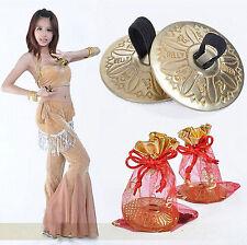 Belly Dance Grain Pattern pure Copper Finger Cymbals Zills Jewellery