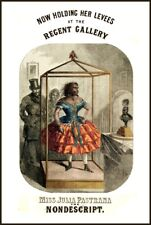 SAMSON THE STRONG MAN POSTER A3 REPRINT VICTORIAN CIRCUS FREAK SHOW ATTRACTION