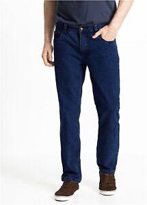 14150c35f607 Caricamento dell immagine in corso Jeans-Uomo-Casual-Pantalone -Comodo-Cotone-Taglie-Forti-