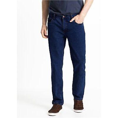 Vaqueros De Hombre Casual Pantalones Cómodo Algodón Talla Grande Tamaño