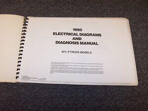 1990 Chevy R1500 R20 R30 R3500 Suburban Blazer Electrical ...