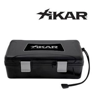 NEW Xikar - Travel Humidor Case - Black - 10 Cigar Capacity