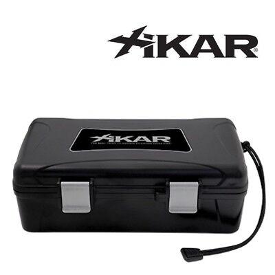 XiKAR 217CL 10 Cigar Locker Crush Proof Travel Humidor Lifetime Warranty