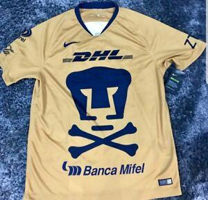 timeless design 030ee 7650e Details about Nike Pumas UNAM Jersey 2018/2019 America Chivas Tigres Xolos  Rayados Cruz Azul
