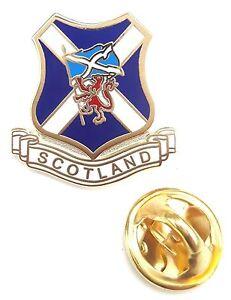 Ecosse-sautoir-drapeau-amp-LION-RAMPANT-Badge-epinglette-en-email-T1081