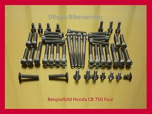 Schrauben Satz Motordeckel Honda CB 750 Four Engine Cover Screw Set OEM