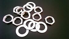 """0.475/"""" nickel plated use with ¼"""" 1//4in JALCO Jacks 25pcs Flat washers ID= 12mm"""