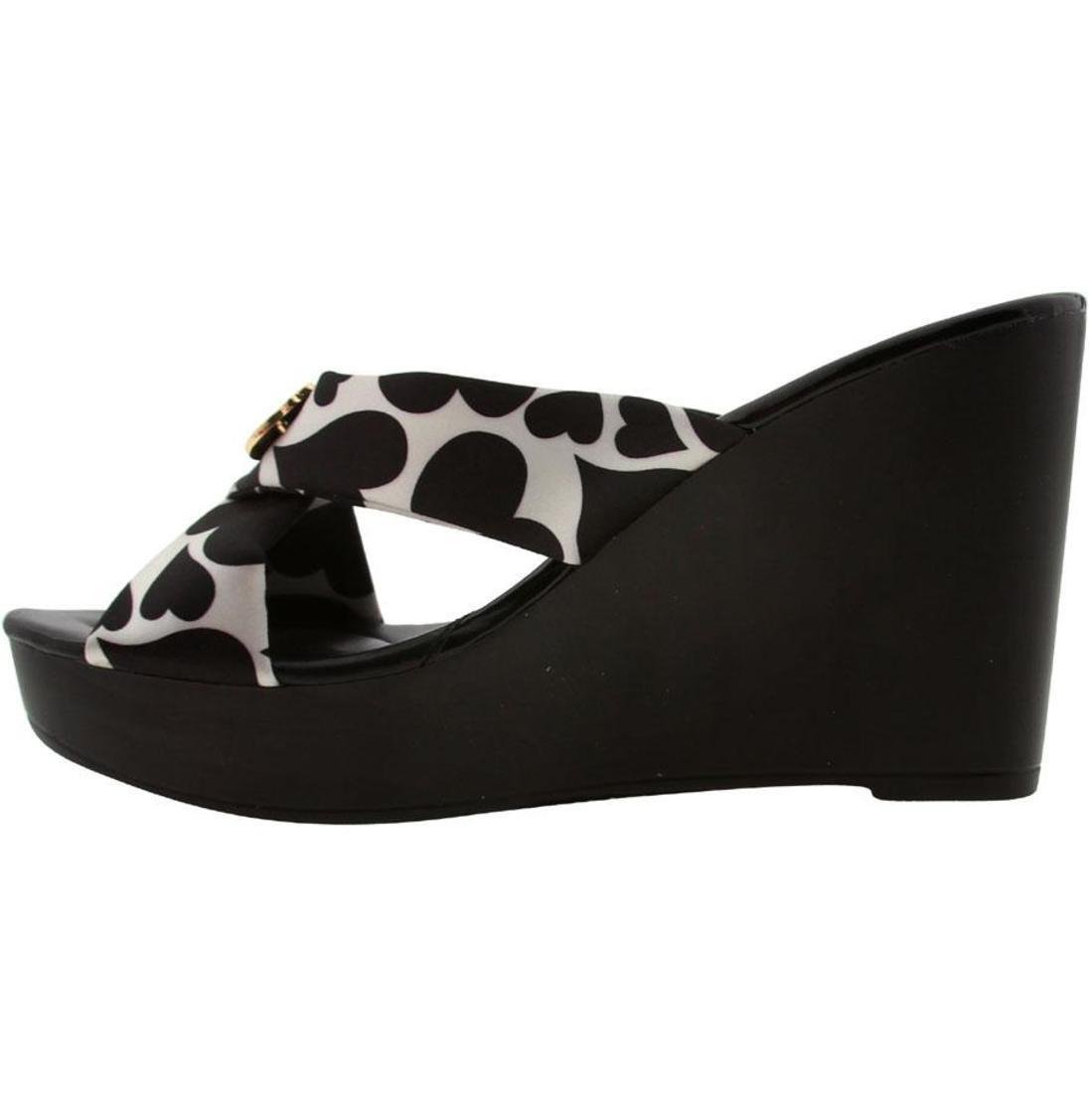 $71.99 Hello Kitty Damenschuhe Felice Heels Schuhes (schwarz print) MW1D03-BPT