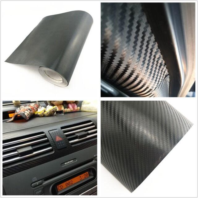 Car SUV Interior Accessories Handle Console Carbon Fiber Wrap Vinyl Film Sticker