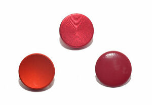 Shutter-Soft-Release-button-Set-Metal-Flat-Concave-Convex-Red