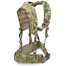 Bulldog MK2 Military Army Cadet Modular MOLLE Airborne Webbing Belt Yoke Set MTP