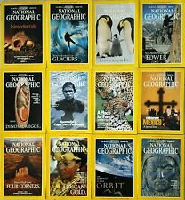 National Geographic Magazines, 1996 - All 12 Volumes + Supplements