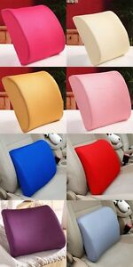 Car Memory Foam Protect Seat Covers Cushion Office Chair Seat Pain Relief Pillow