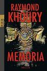 Memoria von Raymond Khoury (2012, Taschenbuch)