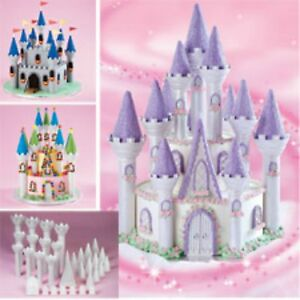 Amazing Wilton Princess Fairy Tale Castle Cake Set Novelty Birthday Cake Funny Birthday Cards Online Inifofree Goldxyz