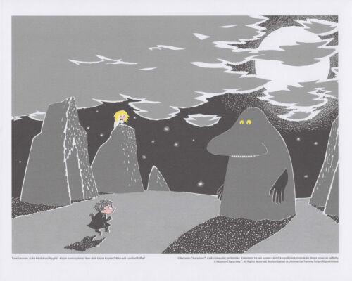 Moomin Set of 4 Posters 24 x 30 cm from Calendar Set 3 Putinki
