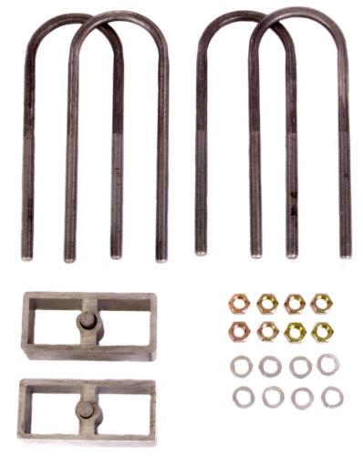 "1982-04 Chevrolet//GMC S10//S15//Sonoma 2/"" Drop Rear Lowering Block Kit 4 /& 6 Cyl"
