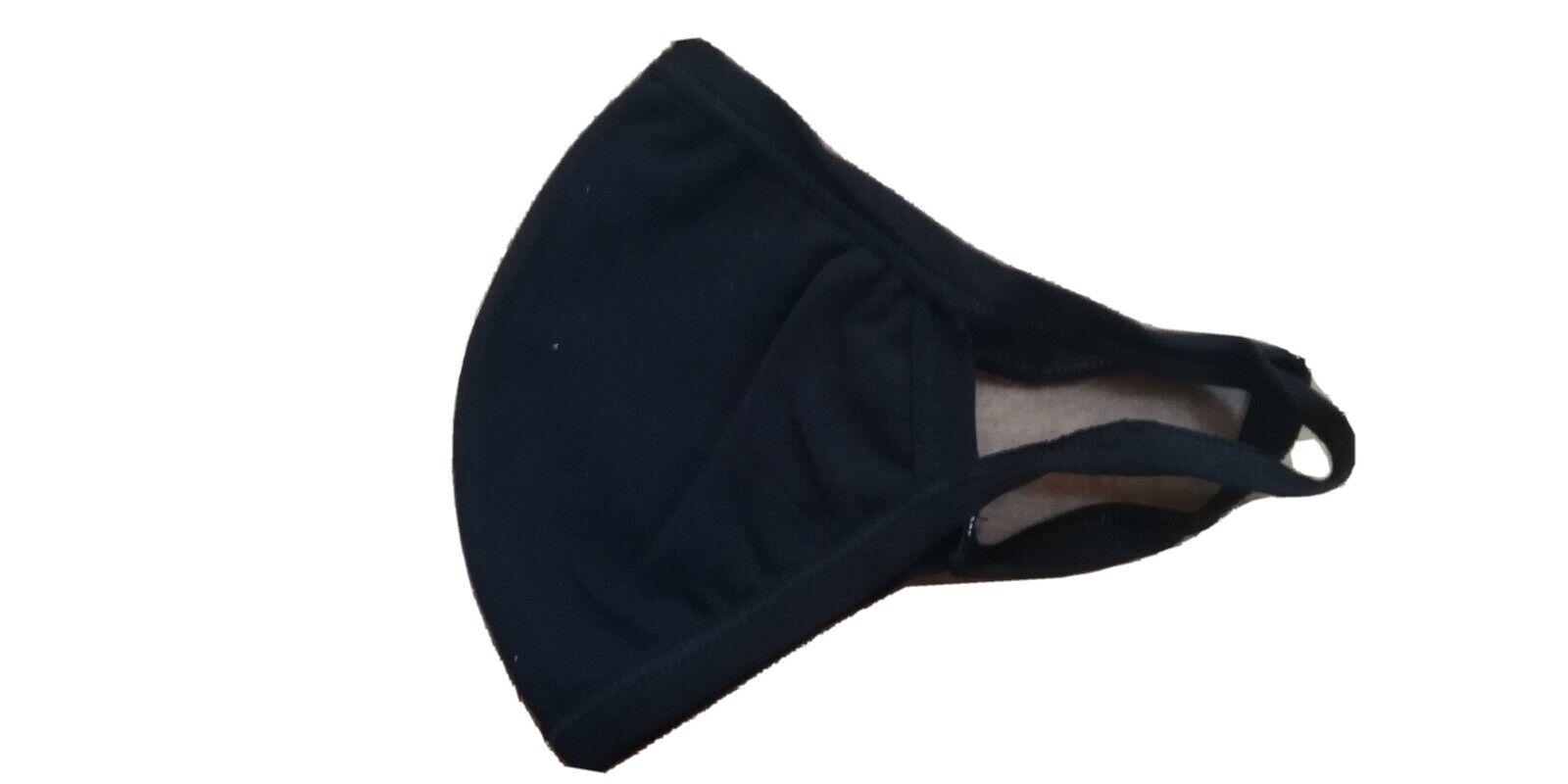 1 Maske Abdeckung Gesicht Größe Für Herren Baumwolle tnt Schwarz Farbe