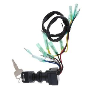 Ignition-Switch-Key-Assy-For-Yamaha-Outboard-Motor-Control-Box-703-82510-43-B6A6