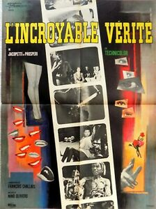 Plakat Original Film - DIE UNGLAUBLICHE Wahrheit - 60 X 80 CM