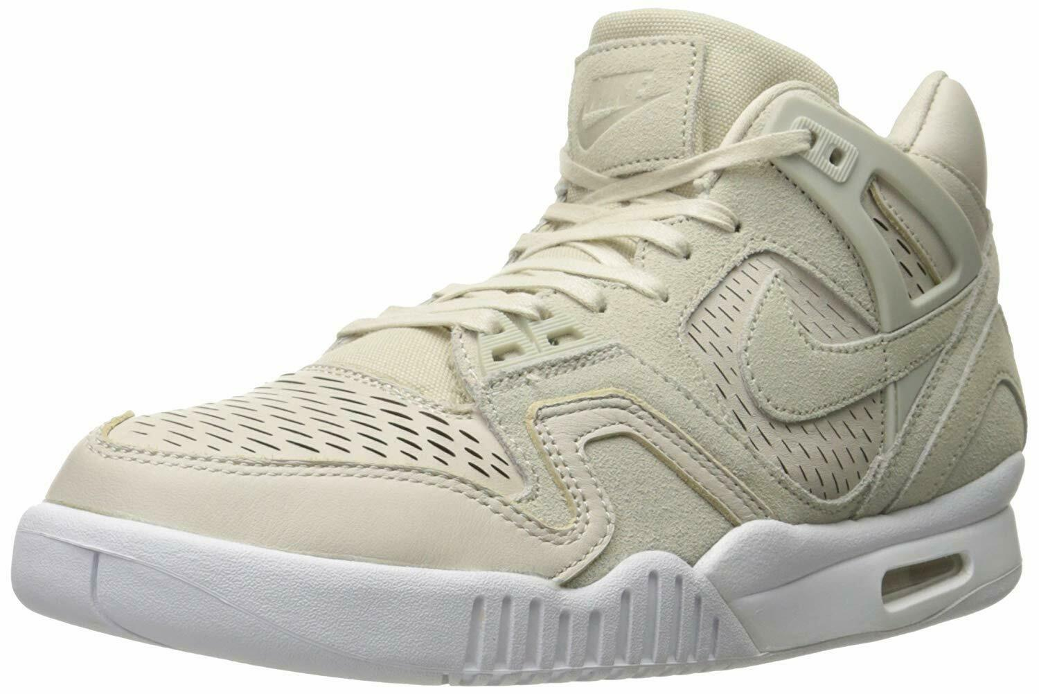 Nike Men's Air Tech Tech Tech Challenge II Laser Tennis shoes Birch White Size 8.0M 35b901