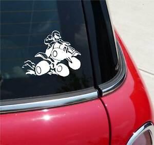 ATV-4-Four-Wheeler-Quad-Racer-Detailed-Graphic-Decal-Sticker-Car-Vinyl