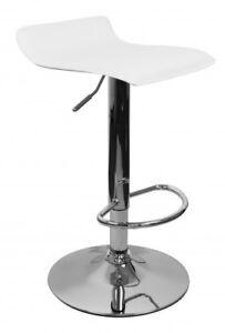 barhocker hocker bezug wei h henverstellbar mit r ckenlehne drehhocker ebay. Black Bedroom Furniture Sets. Home Design Ideas