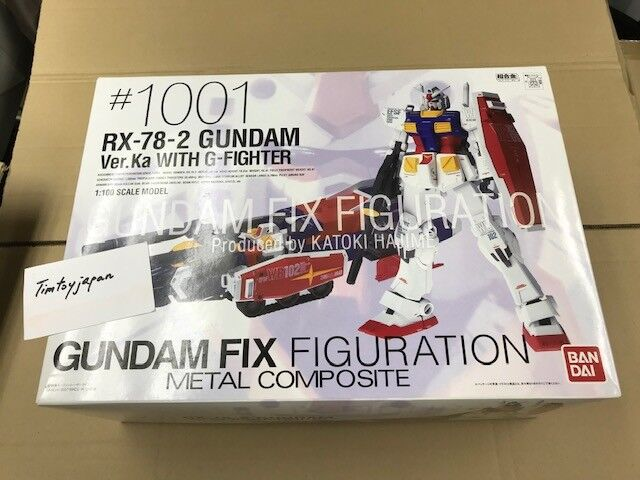 Gundam Fix Figurering Metal Composite Gundam Ver.Ka med G -Fighter NY Herregud